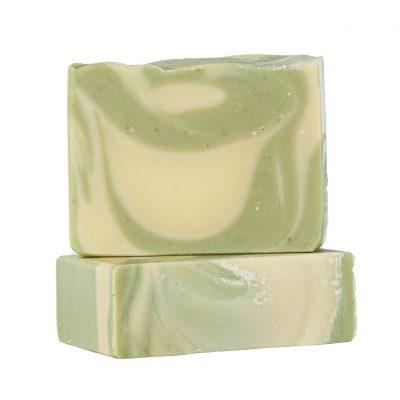 סבון מורינגה ושמן אבוקדו