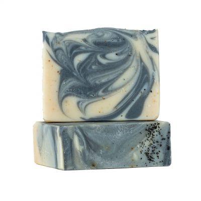 סבון פנים וגוף פחם פעיל עם כורכום