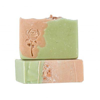 סבון פנים פרחוני